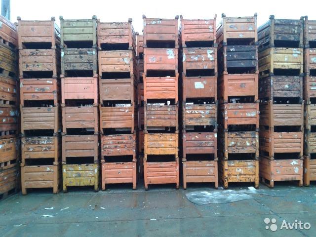 ара, контейнеры, ящики, металлическая...