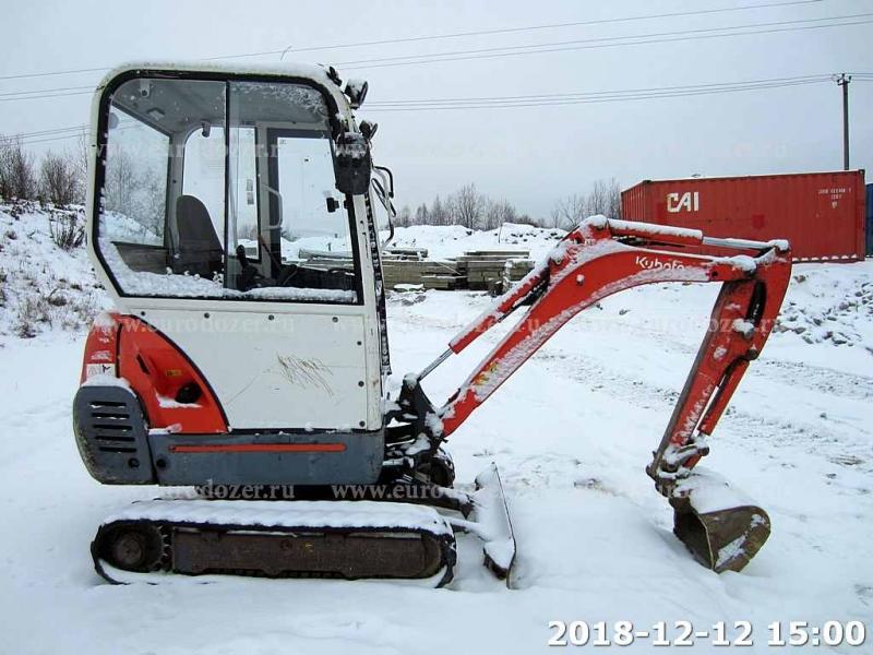 Мини-экскаватор KUBOTA KX41, 2009 г, 4599 мч