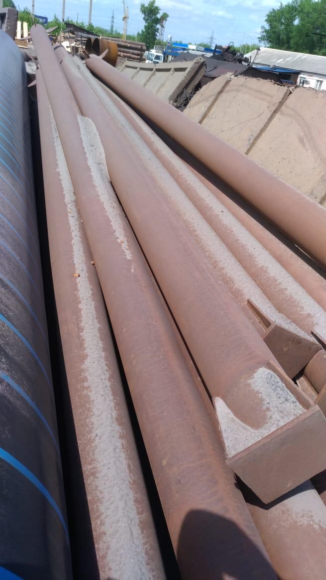 Продам трубу 219х8 , металлоконструкция колонна  длина от 6-10 м. . 4 тн. в нали