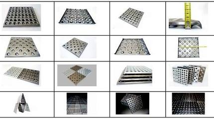 Металлическая плитка для пола
