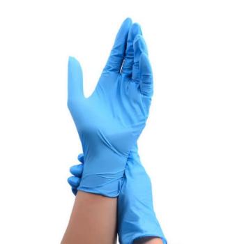 Нитриловые медицинские перчатки Wally Plastic