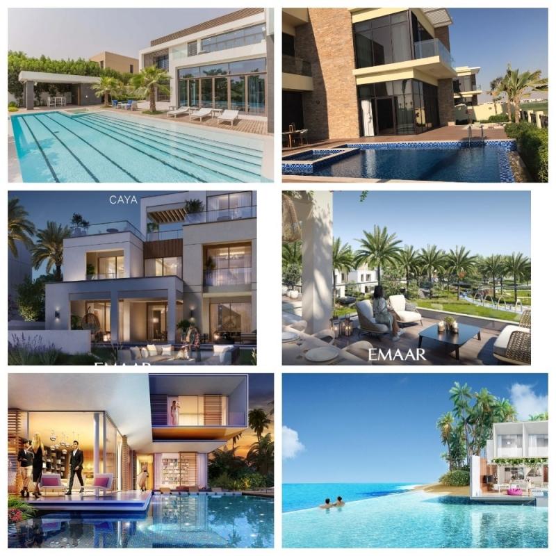 Виллы класса люкс в Дубай ОАЭ. Инвестиции и жилье класса люкс