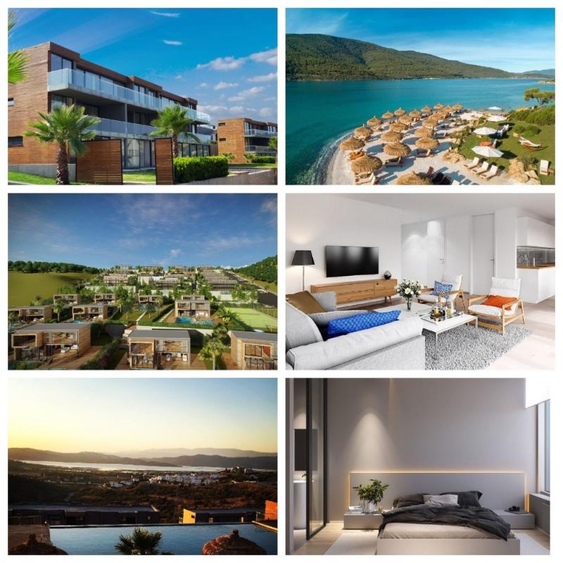 Апартаменты отельного типа в Турции Бодрум