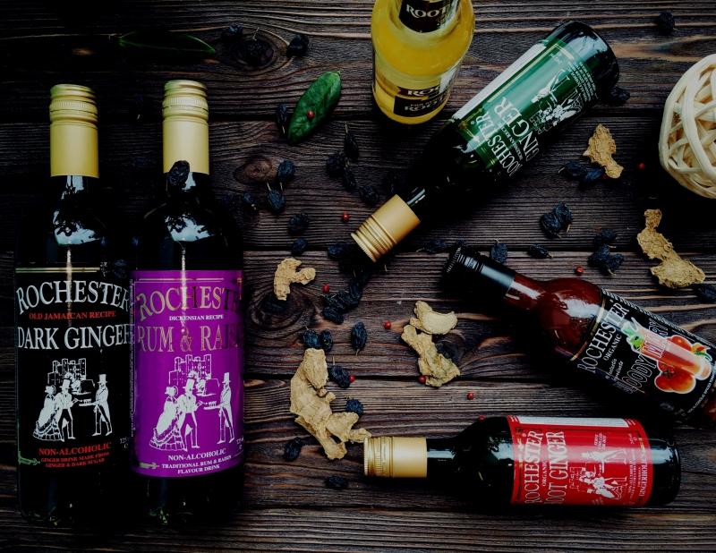 Имбирные напитки Rochester
